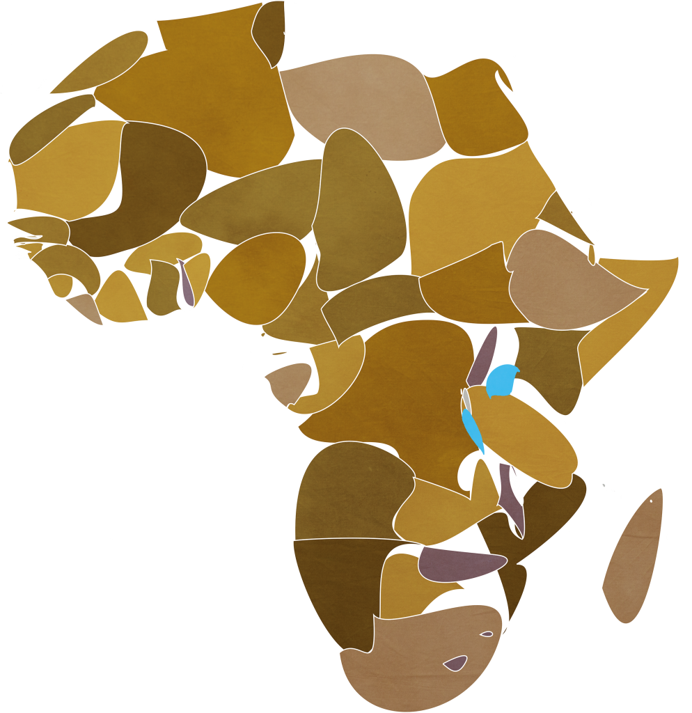 Africa map master
