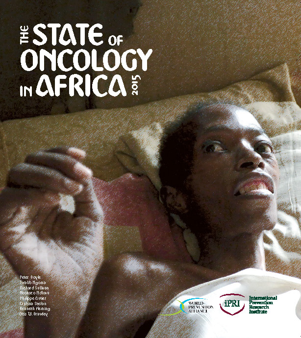 Cover of the State of Oncology in Africa